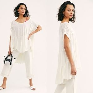 New Free People Top Tier Tunic Retail $78 SMALL